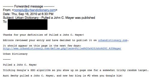 """""""John C. Mayer"""""""