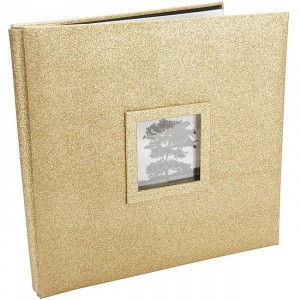 Martha Stewart Gold Scrapbook