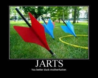 lawn jarts