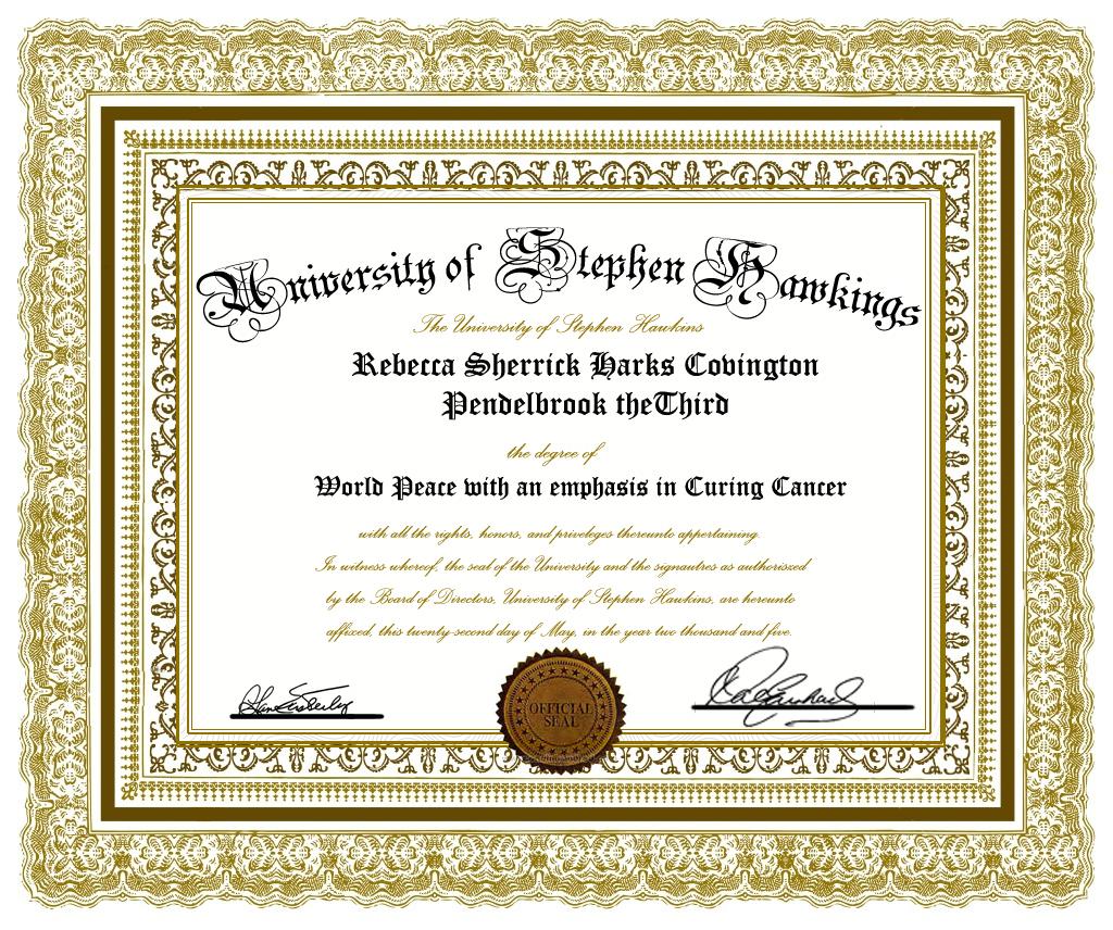 Diploma De Reconocimiento Para Imprimir Gratis