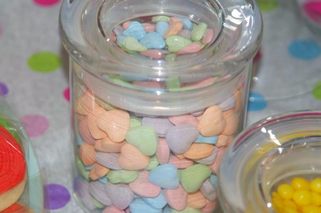 heart candies
