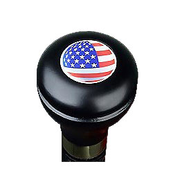 American flag cane