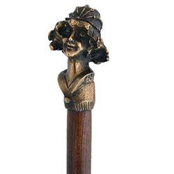 Weird lady cane